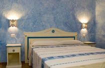 traditional double bed  Artigiantessile