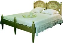 traditional double bed FADO PROVENCE &amp; FILS