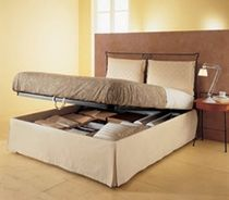 traditional double bed with storage base BOX  ROCCHETTI