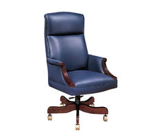 traditional executive leather armchair WEXFORD Jasper Desk Company
