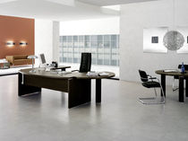 traditional executive wooden office desk TAO Sintetica Industries