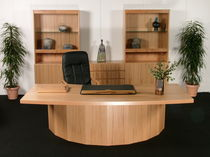 traditional executive wooden office desk starline 7601 dyrlund