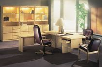 traditional executive wooden office desk COMMODORE ASH dyrlund