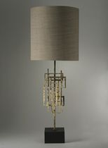traditional fabric table lamp KINETIC  PORTA ROMANA