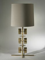 traditional fabric table lamp STAGES  PORTA ROMANA