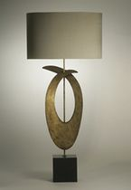 traditional fabric table lamp ROCKEFELLER  PORTA ROMANA