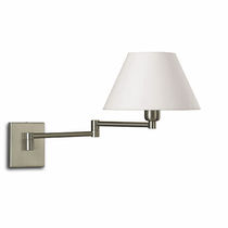 traditional fabric wall light (adjustable arm) AMERICANA: A-1203 Pujol Iluminacion