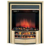 traditional fireplace (electric open hearth) WALTHAM 544-R Burley