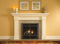 traditional fireplace (gas closed hearth)  SLIM LINE SL-550  HEAT & GLO