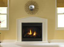 traditional fireplace (gas closed hearth) SLIM LINE SL-750  HEAT & GLO