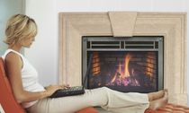 traditional fireplace (gas closed hearth) EXPRESSION 36 QUADRA-FIRE