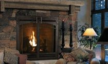 traditional fireplace (gas closed hearth) QFP44 QUADRA-FIRE