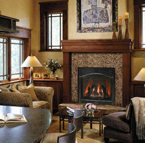 traditional fireplace (gas closed hearth) QFP38 QUADRA-FIRE