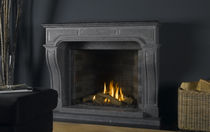 traditional fireplace (gas closed hearth) VENTO CLASSIC Barbas