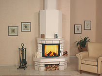 traditional fireplace (wood-burning closed hearth ) RUSTICO 12 N Hark GmbH & Co. KG