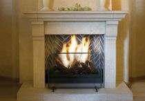 traditional fireplace (wood-burning open hearth) SCHOUW LUCIOLE Kal-fire