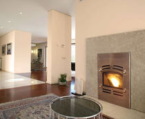traditional fireplace (wood pellet closed hearth ) EDGE 60 QUADRA-FIRE