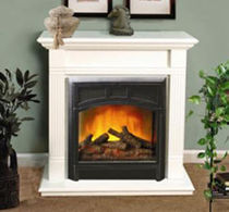 traditional fireplace (electric closed hearth) CONFORT FLAME: 23 Fmi