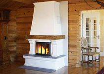 traditional fireplace (wood-burning closed hearth ) FINSE Nordpeis