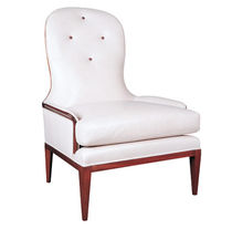 traditional fireside chair MOULIN William Switzer