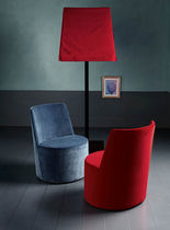 traditional fireside chair LEA by Paola Navone Casamilano