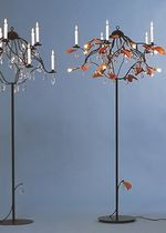 traditional floor lamp (crystal) JAHRESZEITEN by Michael TOPOR ANTHOLOGIE QUARTETT
