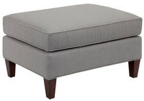 traditional footstool ANTIQUITY Broyhill