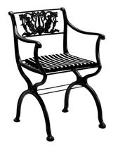 traditional garden armchair D 60 by Karl Friedrich Schinkel Tecta