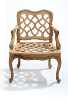 traditional garden armchair JL15 WIG MASSANT