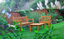 traditional garden bench  Outdoor Comforts