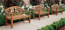 traditional garden bench (teak)  Outdoor Comforts