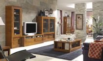 traditional glass and wood TV wall unit FRESH HURTADO