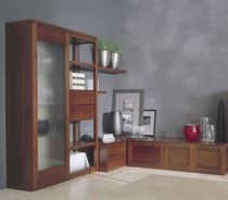 traditional glass front bookcase OMNIA Rosetto Armobil