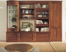 traditional glass front bookcase ORIGINI Rosetto Armobil