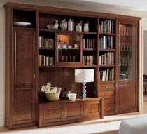 traditional glass front bookcase PARETI e