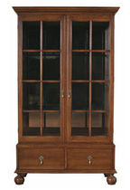 traditional glass front bookcase CAMBRIDGE STICKLEY