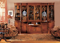 traditional glass front bookcase 0108/M PROVASI