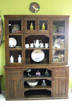 traditional glass pane sideboard  CONELY