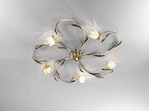 traditional glass wall light MATILDE: 041/5PL arte luce