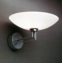 traditional glass wall light STRIKT by Torbjörn Eliasson BLOND