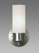 traditional glass wall light REGH: UPTON SINGLE ARM BALDINGER