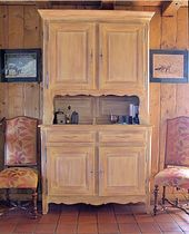 traditional high sideboard MEGEVE Balcaen