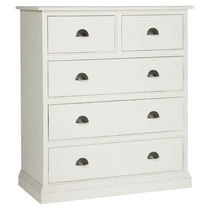 traditional lacquered chest of drawers CHRISTIAN : 3062 DE SPIEGHEL