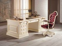 traditional lacquered office desk BEATRICE Onlywood SRL
