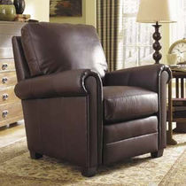 traditional leather armchair CRAFTSMAN : RUSHMORE STICKLEY