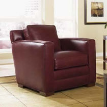traditional leather armchair CRAFTSMAN : CARLSBAD STICKLEY