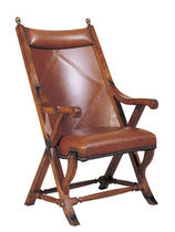 traditional leather armchair  NICHOLS &amp; STONE