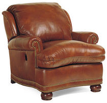 traditional leather armchair AUSTIN TILT  HANCOCK AND MOORE