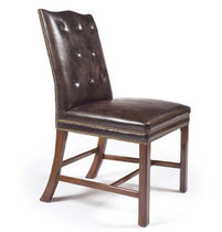 traditional leather chair  GAINSBOROUGH SIDE Lee Jofa
