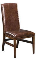 traditional leather chair BANYAN NICHOLS &amp; STONE